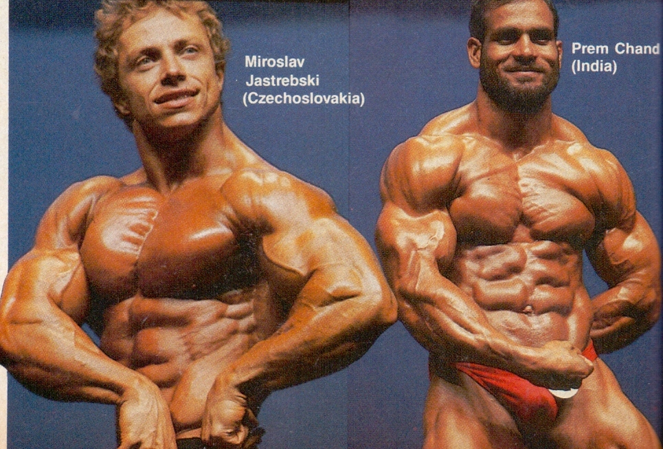 Premchand a Miroslav Jastrzebski.