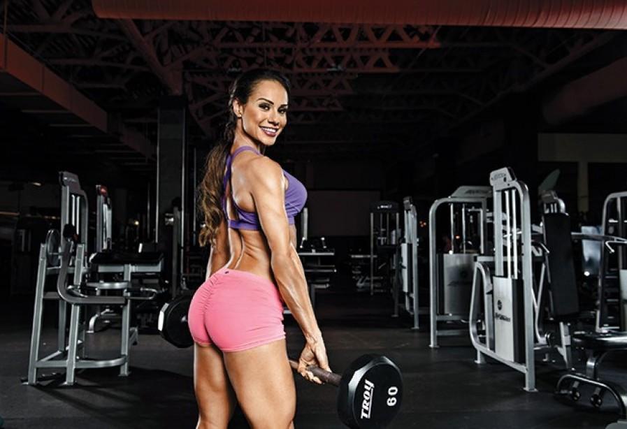 Nathalia Melo bikini trénink pro ženy