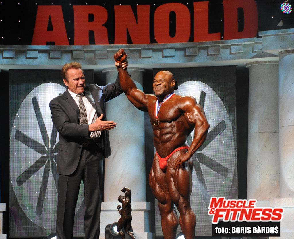 Arnold a Kai Greene