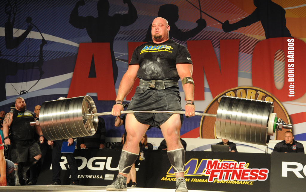 deadlift Brian Shaw