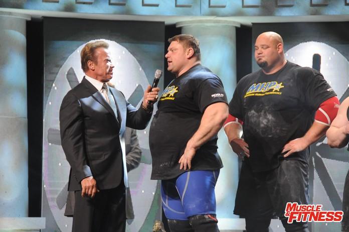 Arnie a Savickas