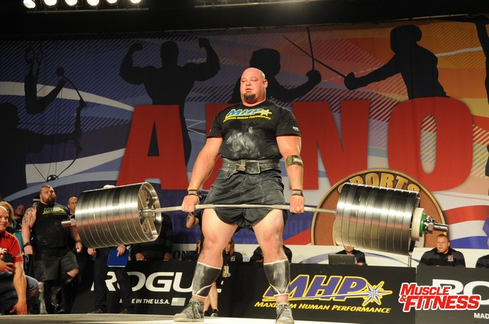Shaw deadlift