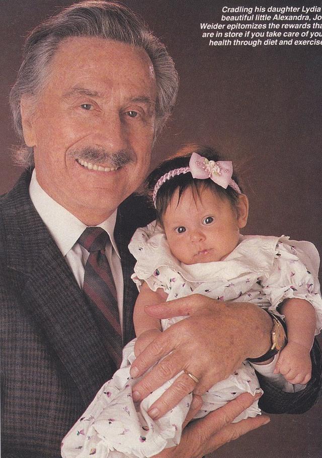 Joe Weider s vnučkou