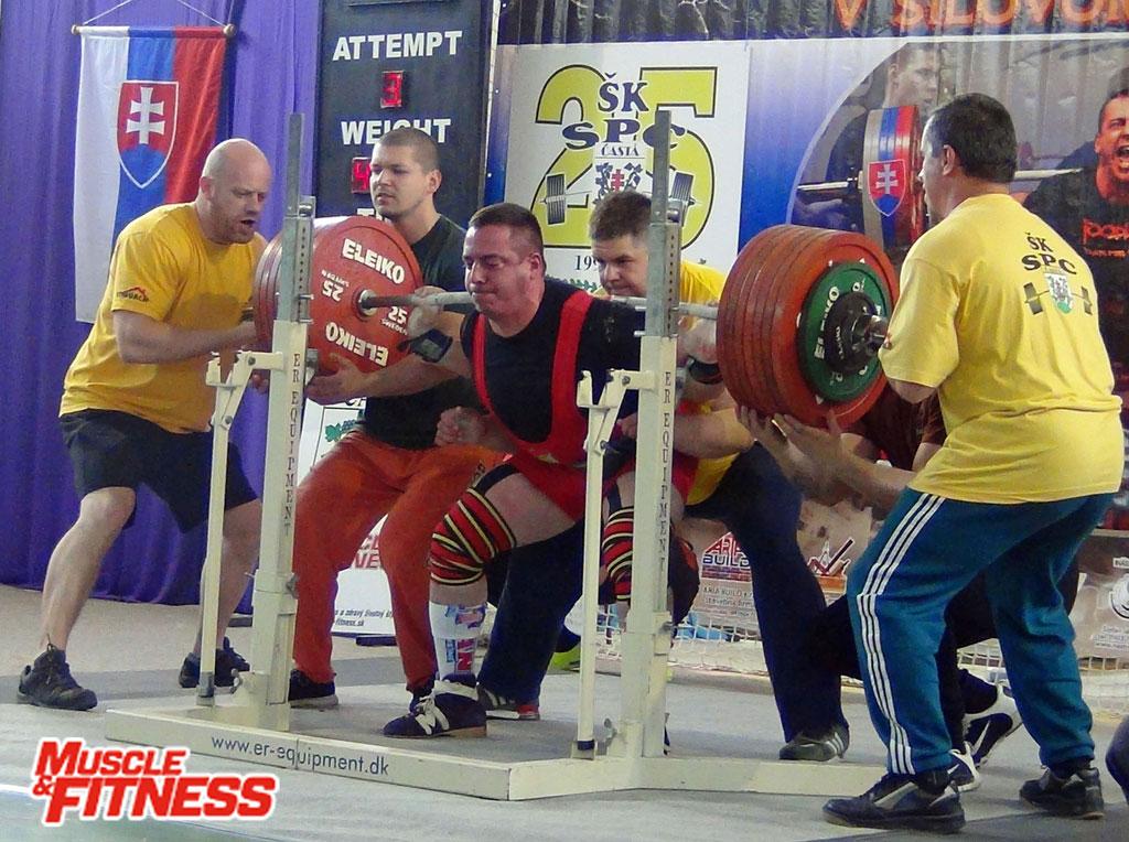 Tomáš Haršány - dre 400 kg