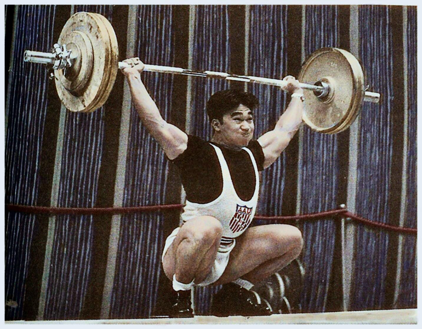 Tommy Kono na MS 1955