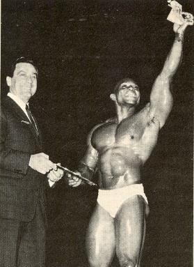 Oliva na Mr. Olympia 1967