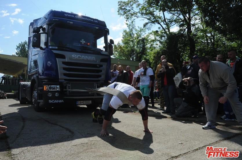 Juraj Rákoci (ťahanie kamióna)