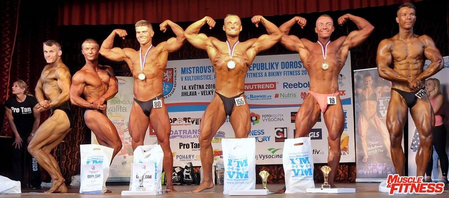 Kulturistika juniorů do 77 kg