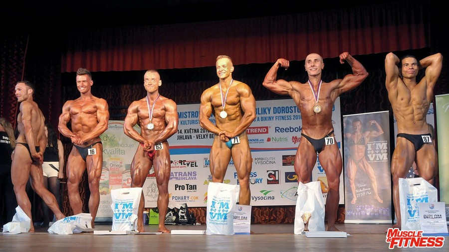 Kulturistika juniorů nad 77 kg
