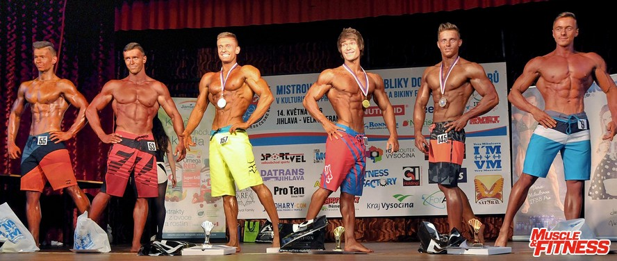 Physique juniorů do 178 cm