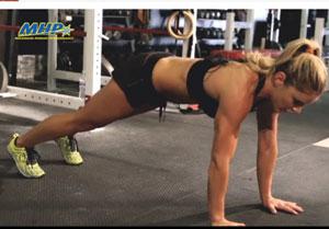 Sarah Grace push ups