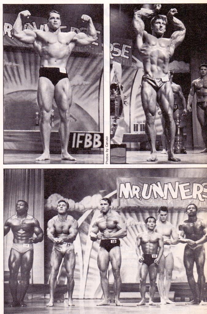 ARNOLD Mr. UNIVERSE 1968