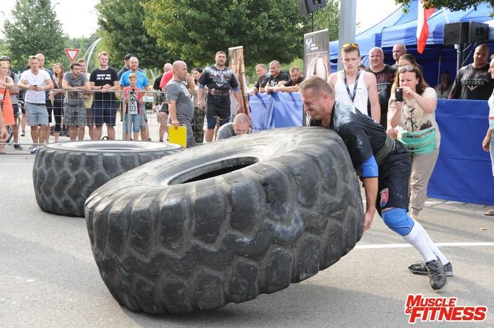 Golier pneu