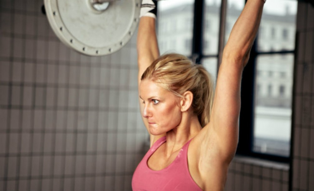 MF Overhead Press woman
