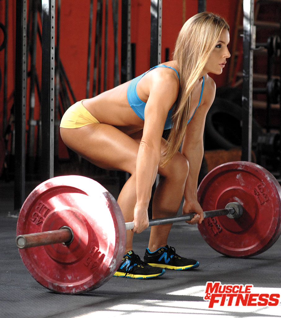 Sarah Grace deadlift