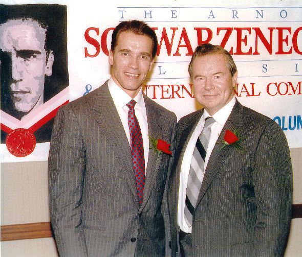 Výročí Jim Lorimer s Arnoldem