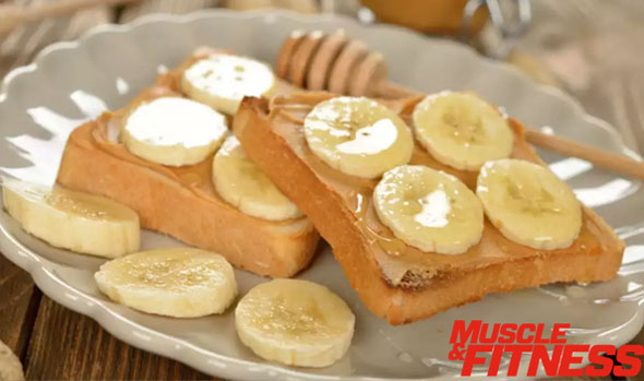 Toast peanut butter