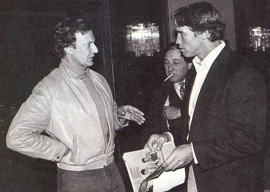Bob Kennedy (vlevo) s Arnoldem