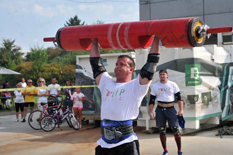 Strongman Martin Klada