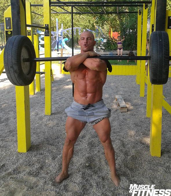 O front squat