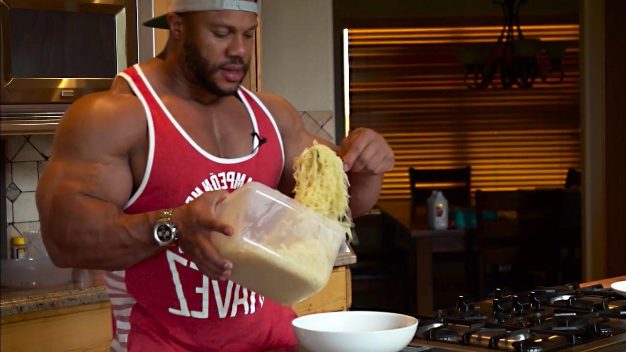 Phil Heath pasta