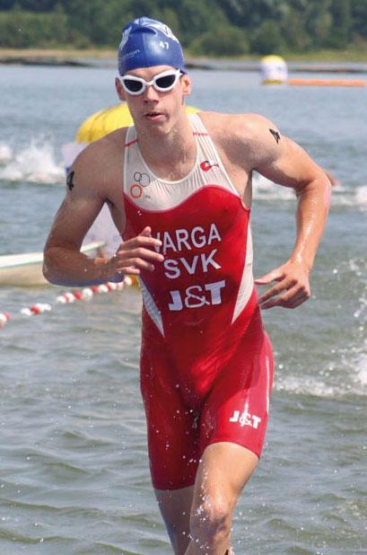 Richard Varga z vody