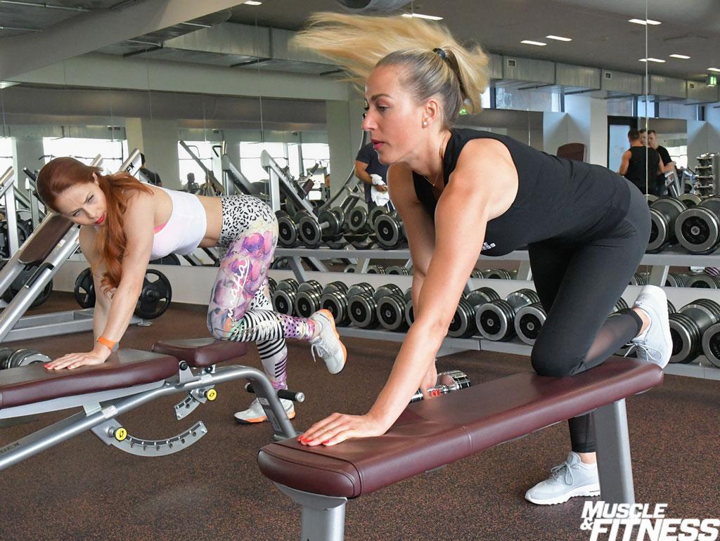 Silvia trening