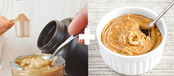 Protein arasidove maslo