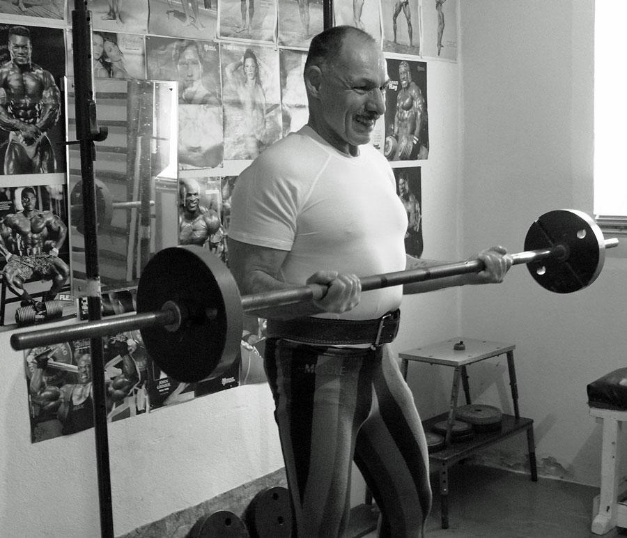 Svub pri treningu