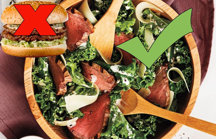 Burger Kale