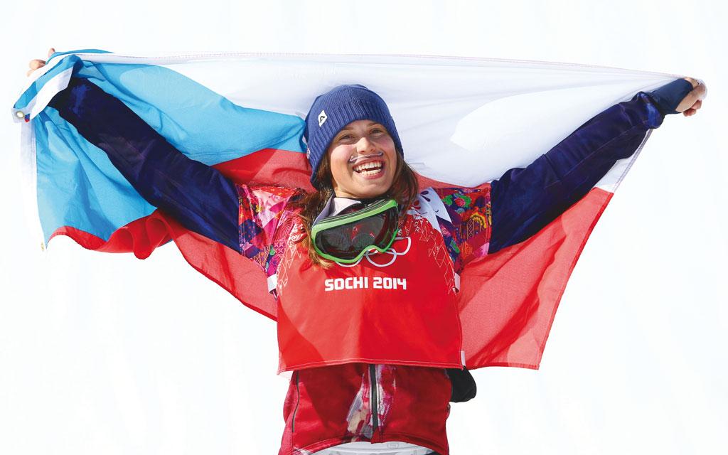 Eva Samkova Sochi