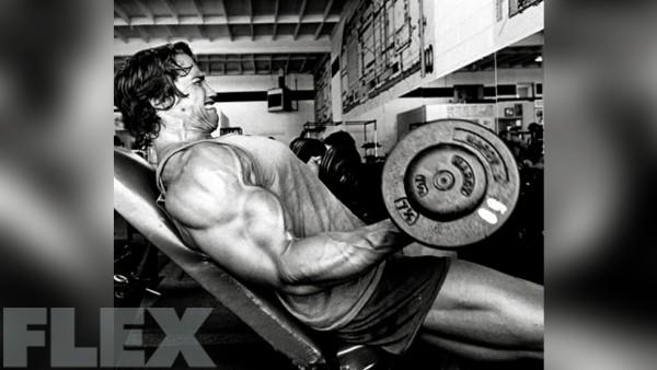 arnold biceps curl 2