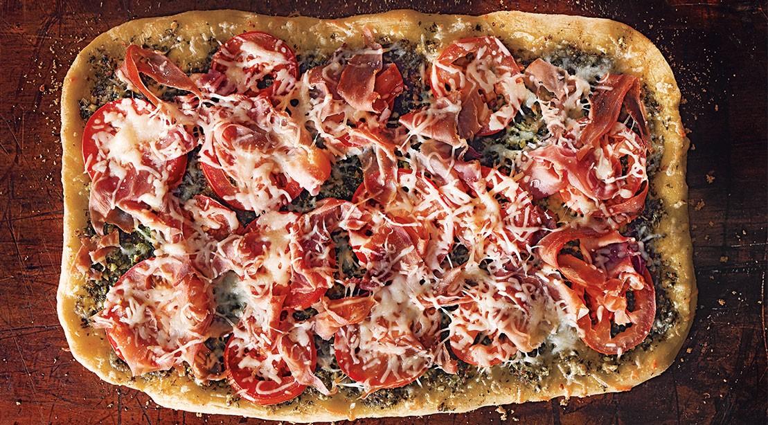 sun dried prosciutto flatbread 1109
