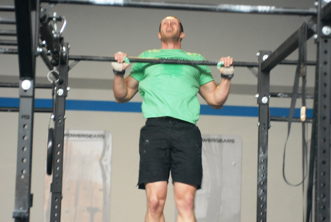 chest to bar