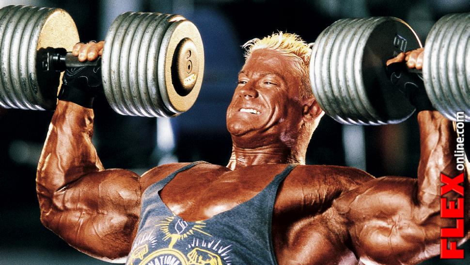 Retro athlete Chris Cook rotator