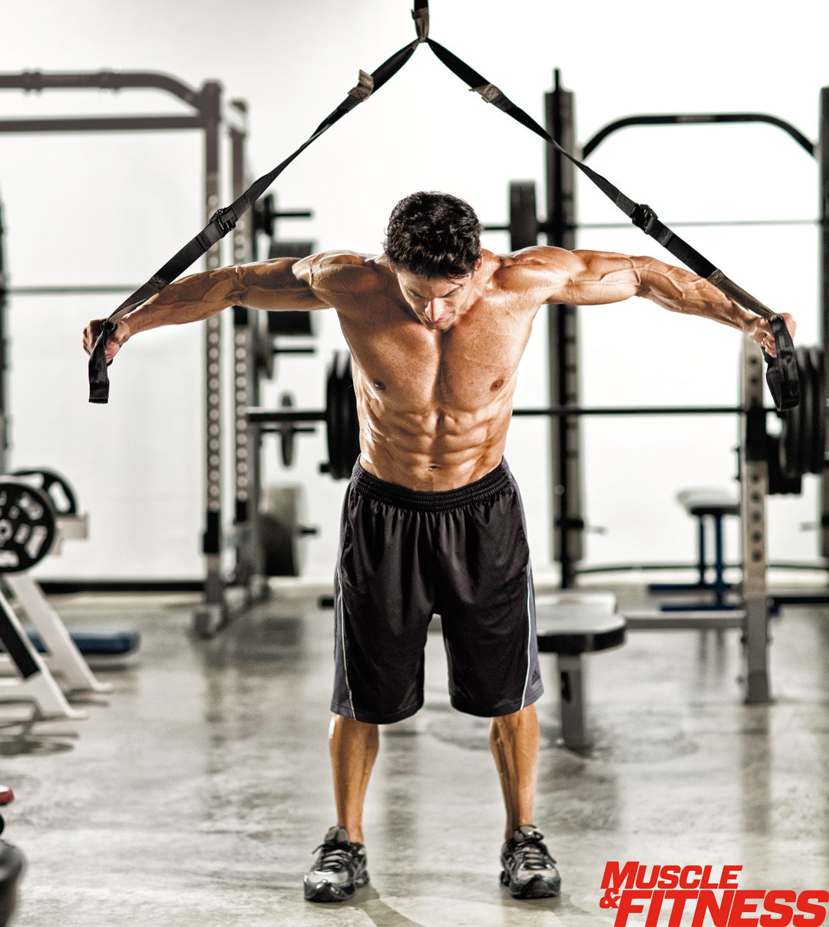 Gymnast biceps