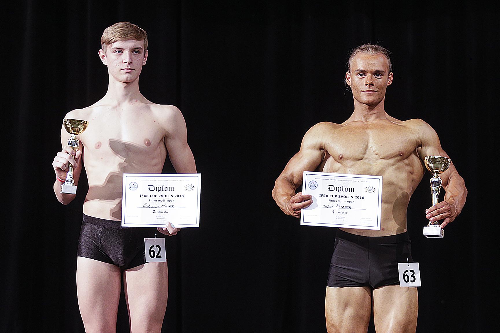 IFBB Cup Zvolen Fitness Muži foto: Ivan Pavlisko