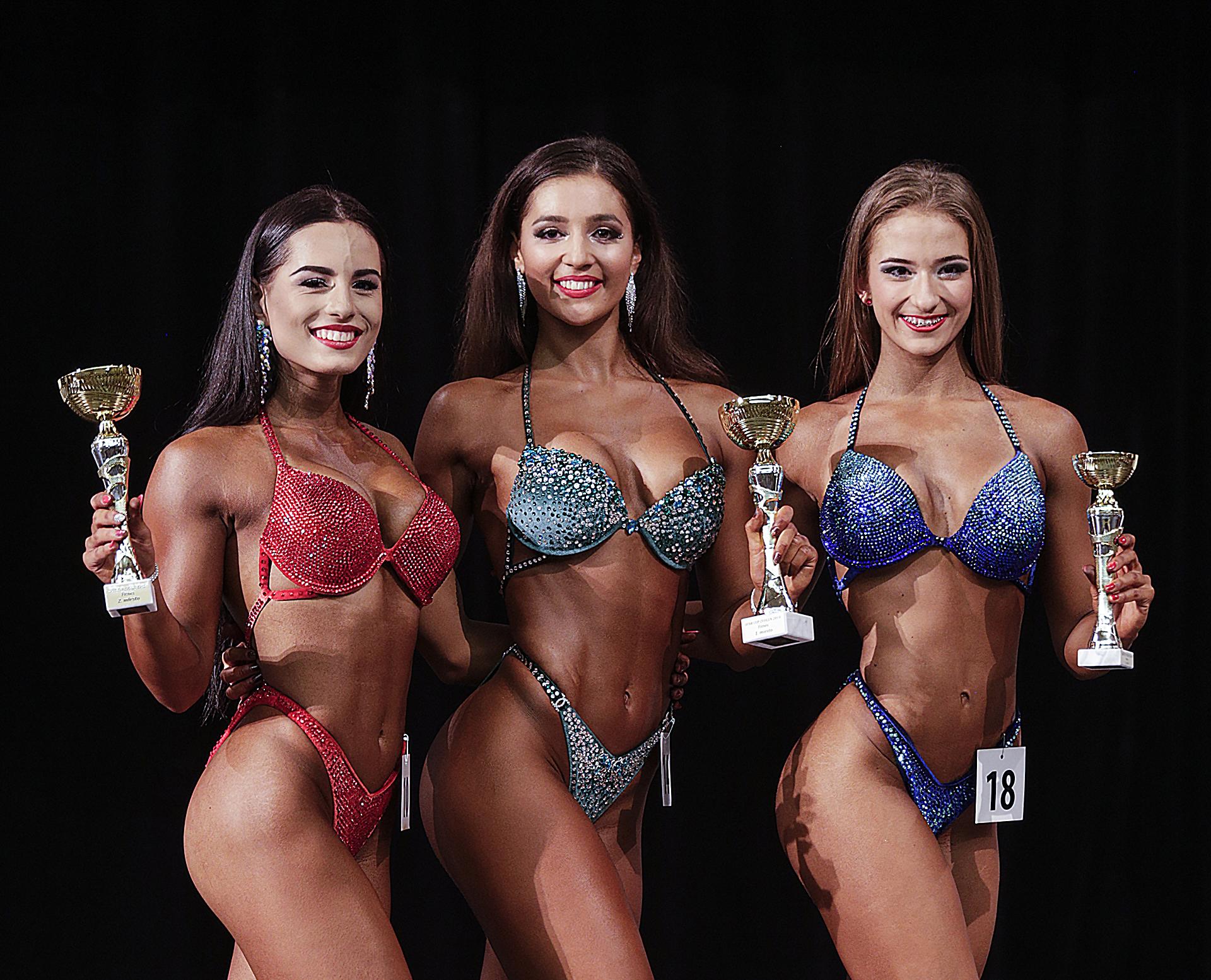 IFBB Cup Zvolen fitness ženy foto: Ivan Pavlisko