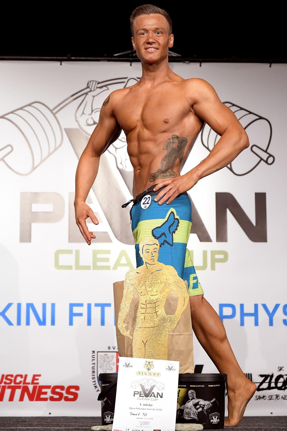 PeVan Clean Cup. Kondiční physique juniorů. Foto: Zdeněk Dryák