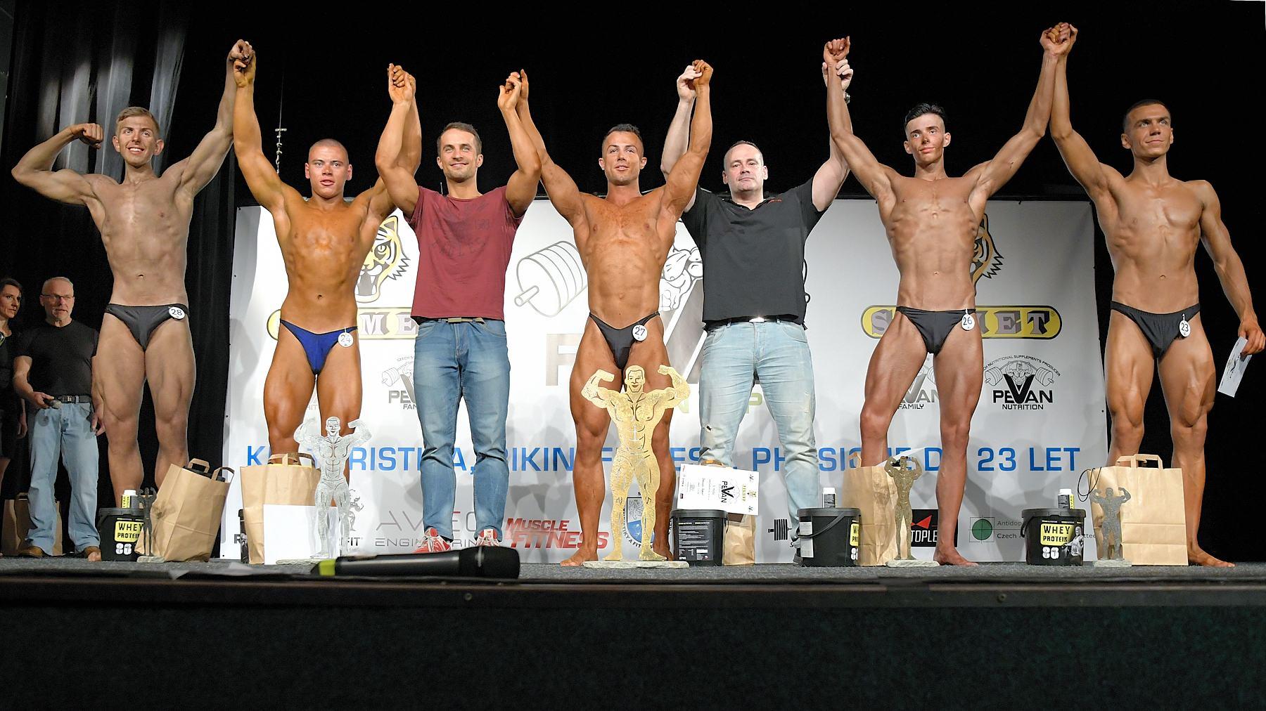 PeVan Clean Cup. Kondiční kulturistika juniorů. Foto: Zdeněk Dryák