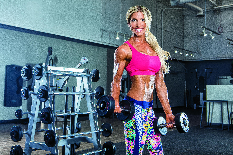 Modelka Heidi Powell a její trénink pro ženy