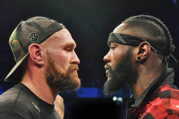 zápas Wilder vs. Fury
