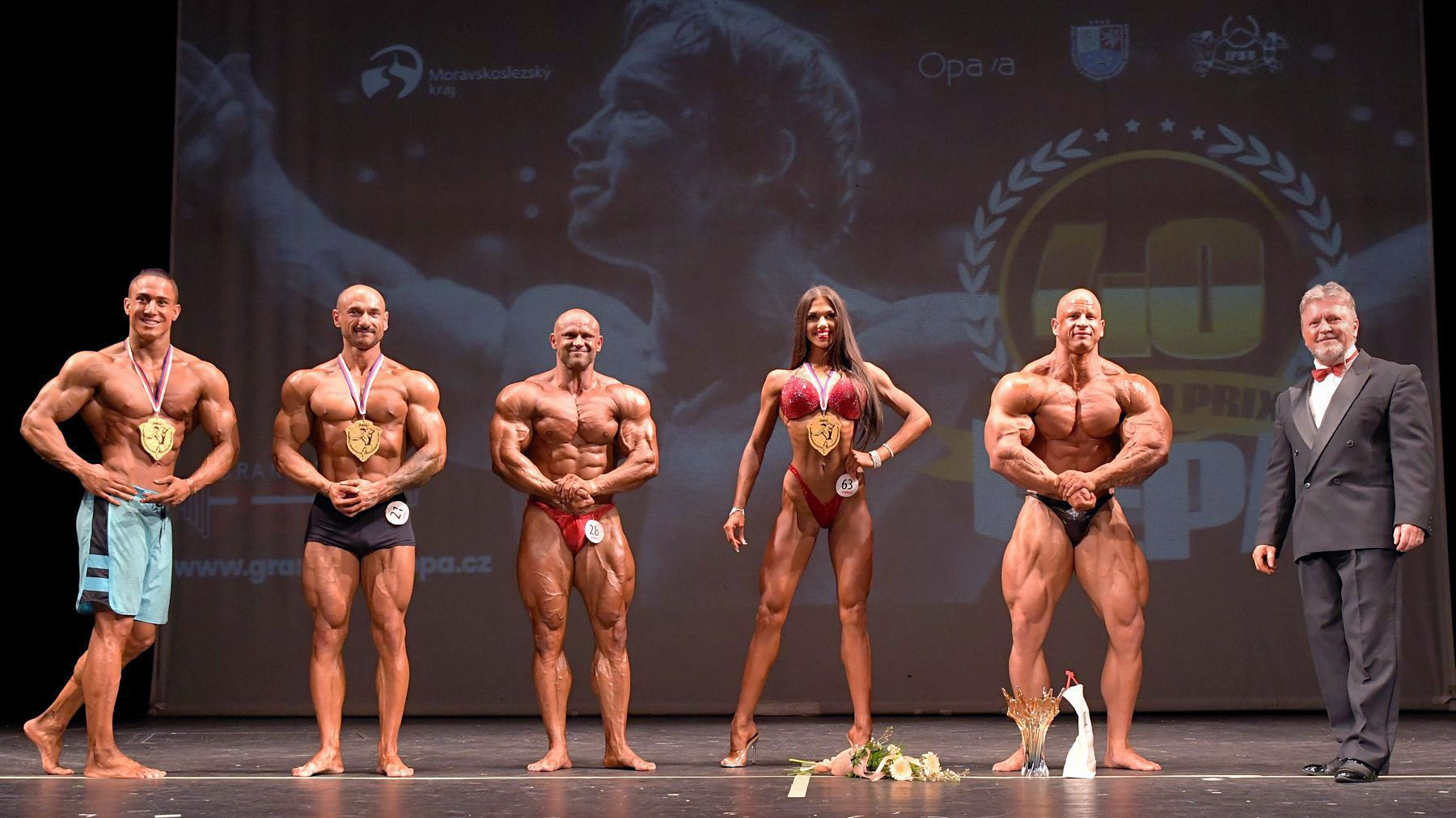 Grand Prix Pepa Opava 2018 vítězové foto: Zdeněk Dryák