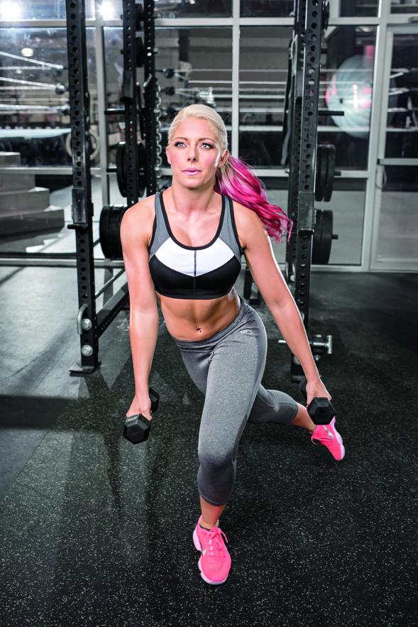 Formování postavy bruslařský biceps