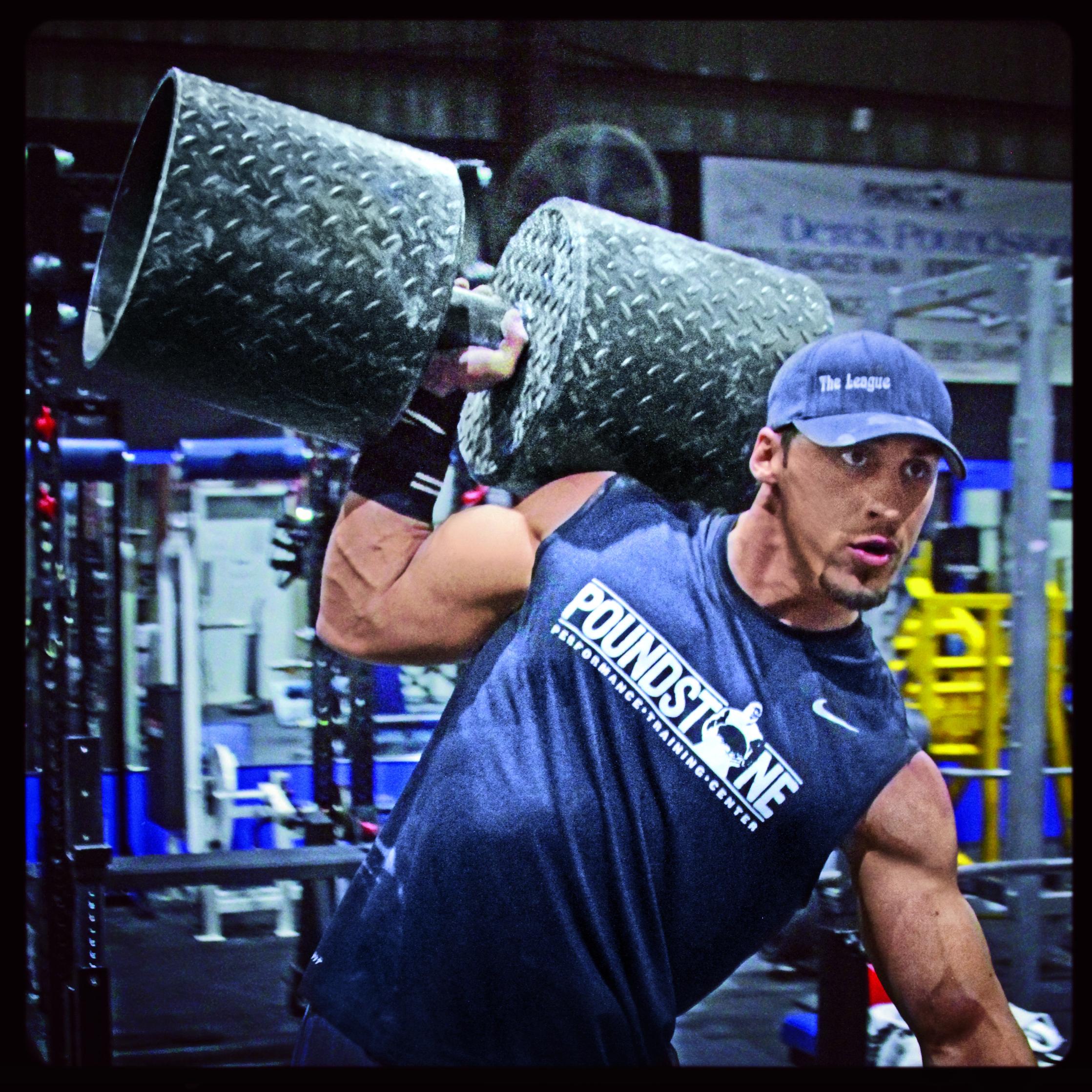 tréning strongman