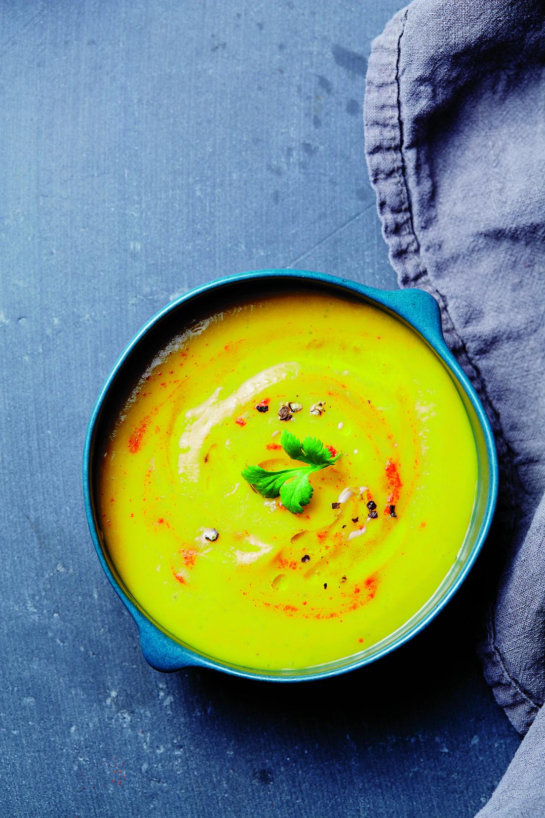 Batátová polévka s kmínem