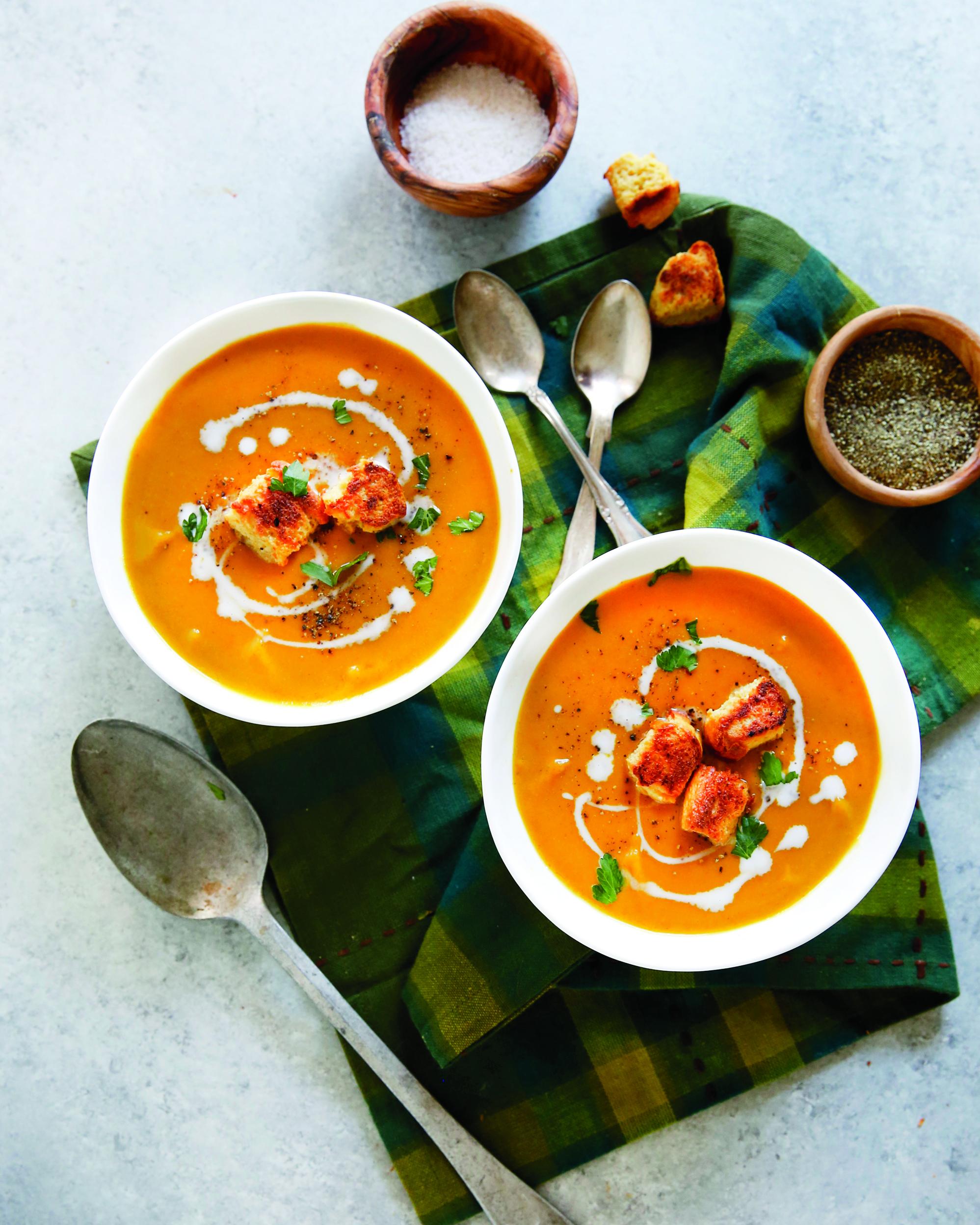 Kari polévka s dýní