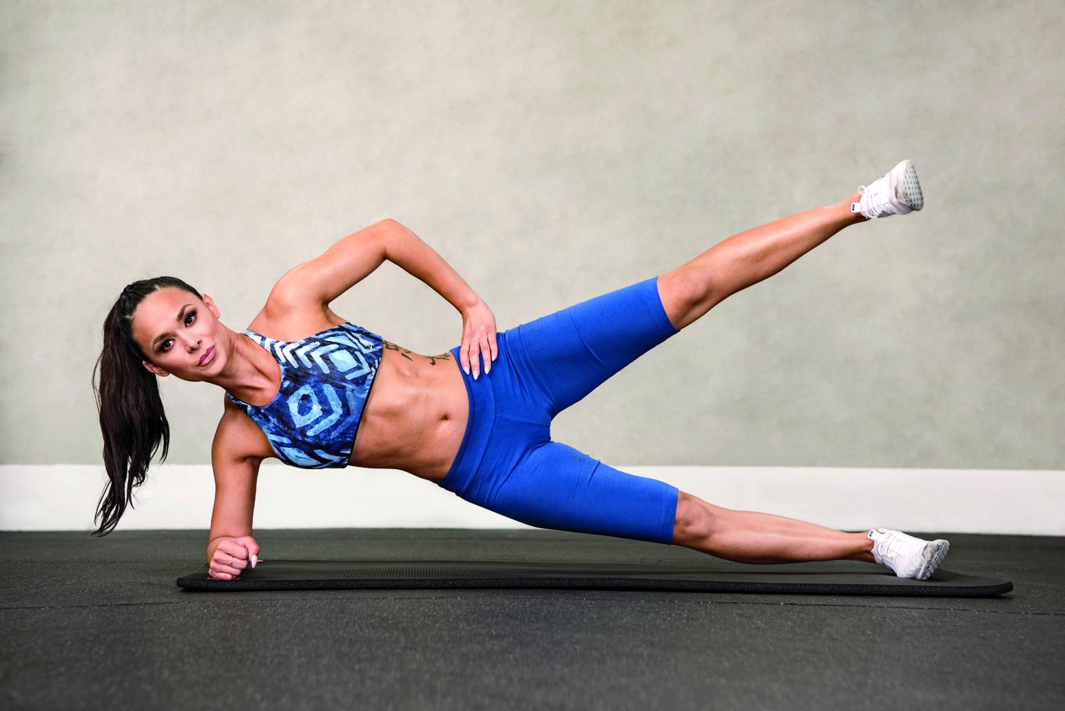 Modelka Katie - trénink pro ženy