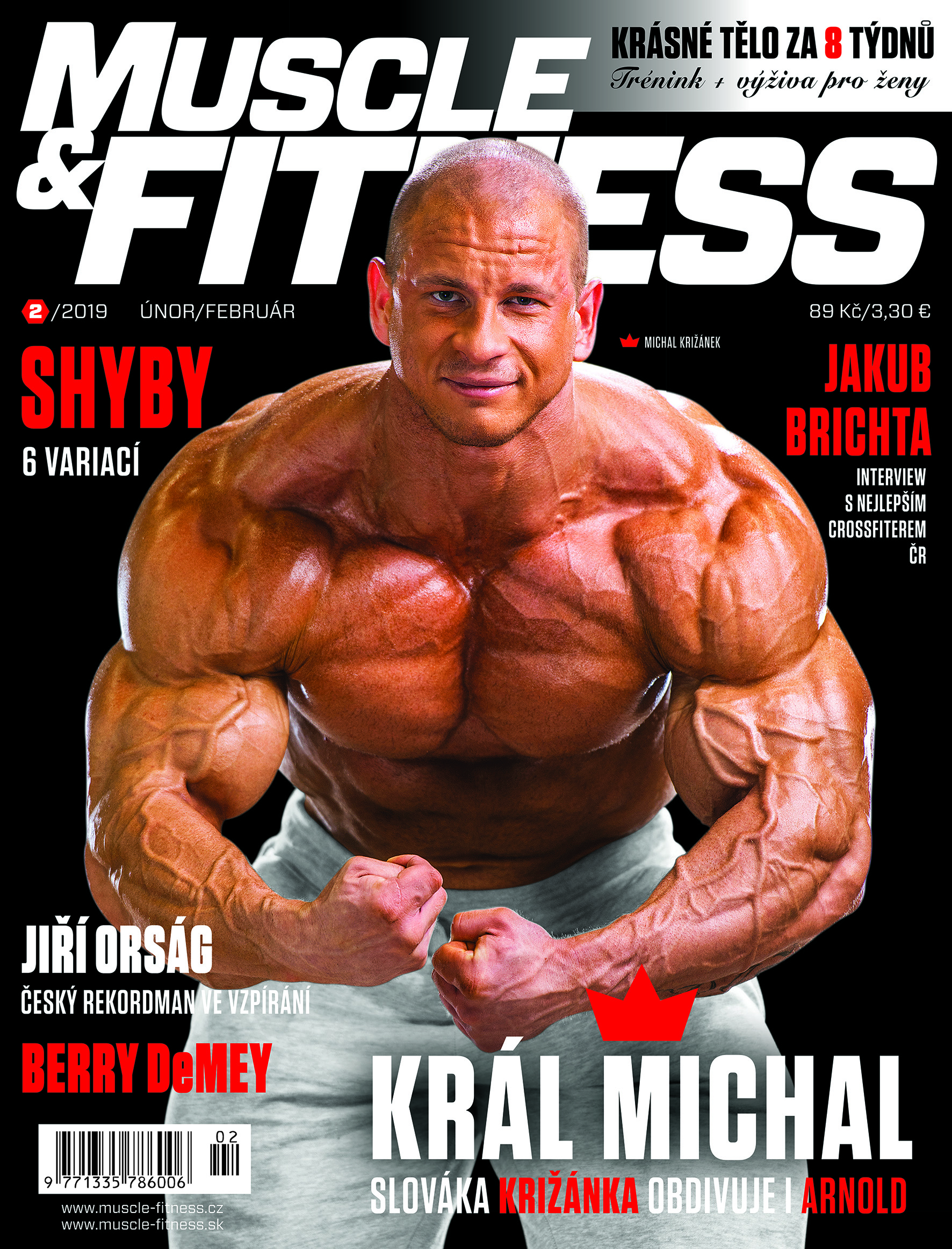 Titulka MUSCLE&FITNESS 2/2019