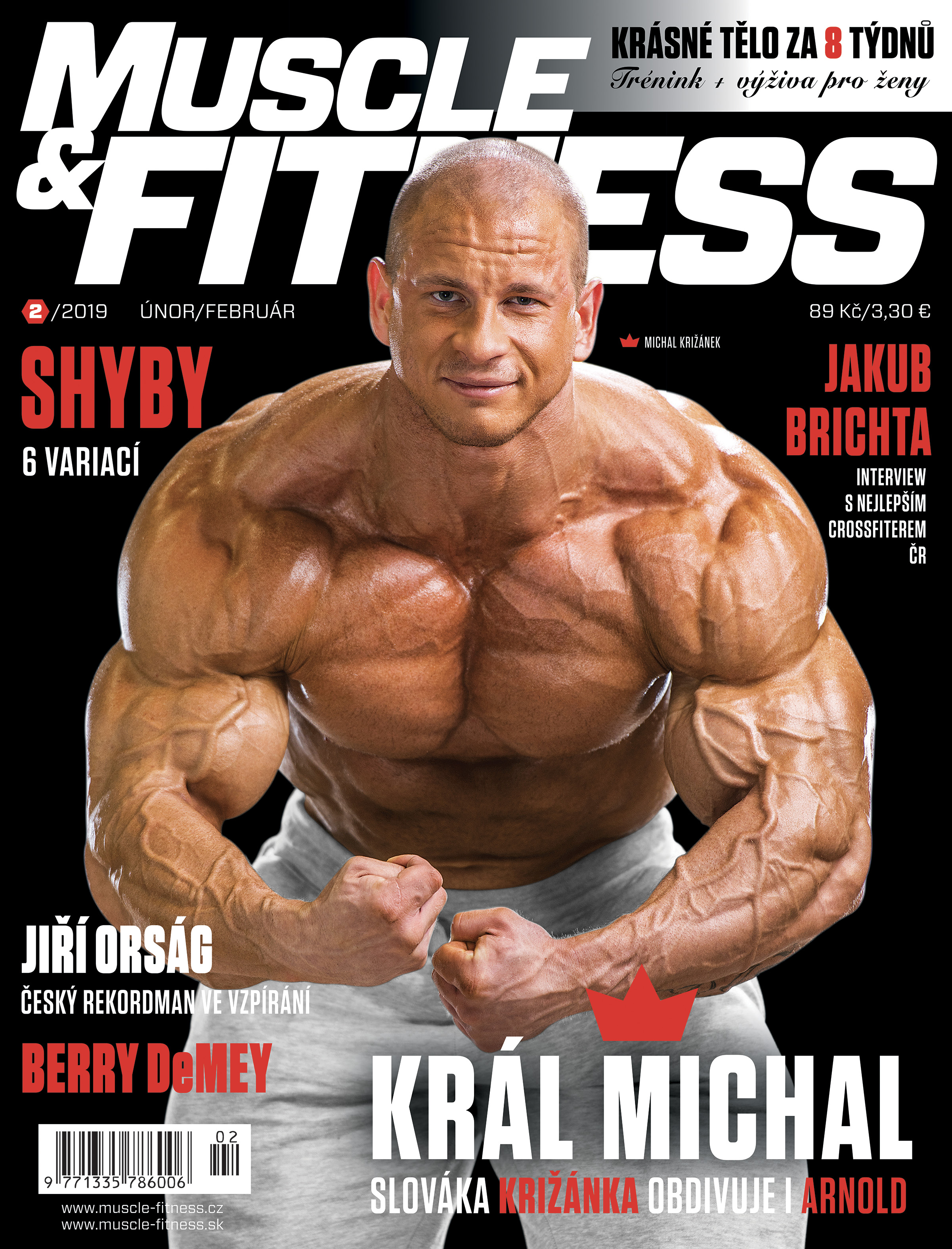 Michal Križánek MUSCLE&FITNESS